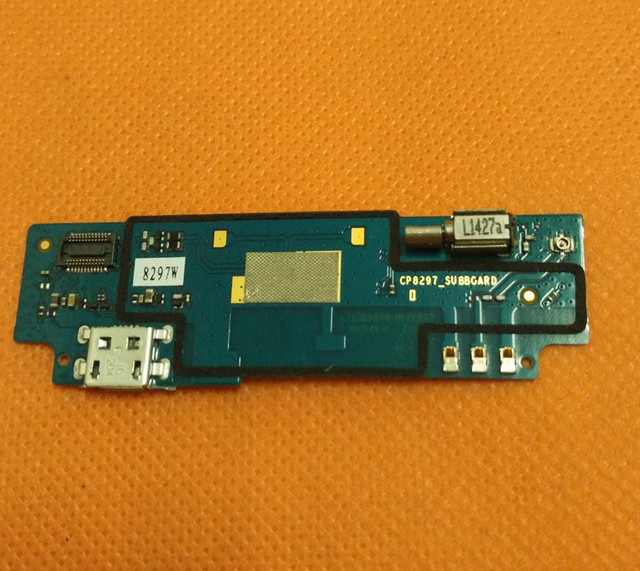 "Used Original USB Plug Charge Board For Coolpad F1 8297W MTK6592 Octa Core 5.0"" HD 1280*720 Free shipping"