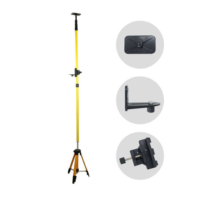Adjustable Aluminum Tripod Extend Bracket Max 4M Support Stand Tripod for Laser Level