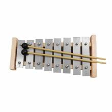 M-ws orff World музыкальное обучающее устройство для детей, 8 нот, деревянный ксилофон для раннего возраста, музыкальный инструмент, детские игрушки
