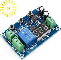 Батарея зарядки Модуль сброса встроенный вольтметр поднапряжение и защита от перенапряжения синхронизации заряда и разряда XH-M608