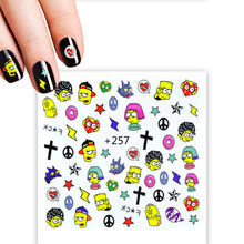 1 Pcs HOT VERKOOP Cartoon Hoofd Nagels Art Tips Wit/Clear/Natural Kunstnagels Tips Platte Vorm Volledige cover Fake Nail Tips TLYM257(China)