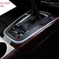 1 PCS DIY Car Styling NEW Stainless Steel U Type Bright Frame Stand Cover Case For