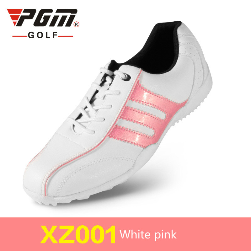 PGM Golf Shoes Women Ultra-Light Breathable Mesh Women Sports Shoes Non-Slip Girls Golf Shoes B2855 new arrival women golf shoes flat heels shoes non slip ladies golf shoes outdoor breathable sneakers red
