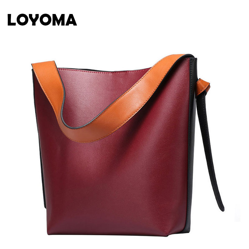 2017 Genuine Leather Women Bucket Bags Women Tote Bags Famous Designer High Quality Fashion Small Purse Shopper Bag Bags bolsos 2017 designer genuine leather bags ladies famous brand women handbags high quality tote bag for women fashion hobos bolsos