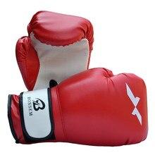 New Arrived Male Female PU Leather Man Boxing Glove Mma Sanda Kung Fu Fighting Sandbag Training
