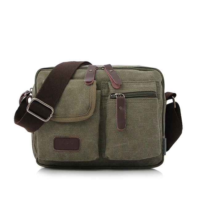 2017 High Quality Multifunction Men Canvas Bag Women Casual Travel Bolsa Masculina Men Messenger Bags Men's Crossbody Bag
