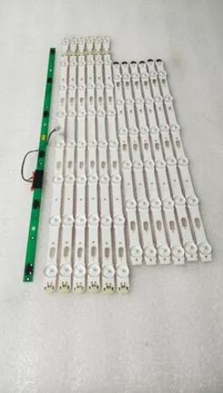 LED Backlight Lamp strip 1set=12pcs 14leds For SamSung 55 inch TV UA55JU6800JXXZ LED CY-WJ055HGLV4H цена