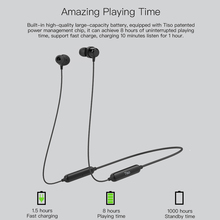 Waterproof Wireless Bluetooth Neckband Earbuds