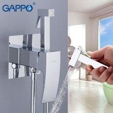 GAPPO bateria bidetowa Bidet opryskiwacz do toalety łazienka muzułmańska bateria kuchenna prysznic toaletowy bidet mosiądz słuchawka prysznicowa Shattaf ducha higienica