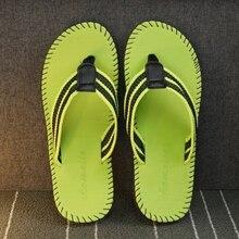 JYRhenium 2019 New Summer Men Slippers Flip Flops Unisex Beach Sandals Anti-slip Zapatos Hombre Sports Women Sale