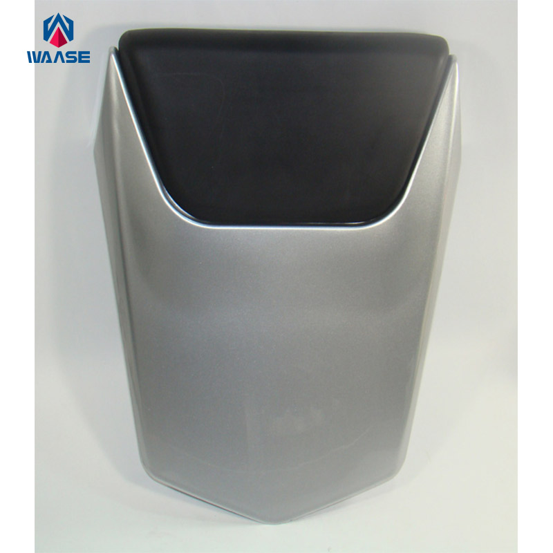 Motorcycle Parts Rear Seat Cushions Cover Tail Section Fairing Cowl Silver For 2000 2001 Yamaha YZF R1 Accessories