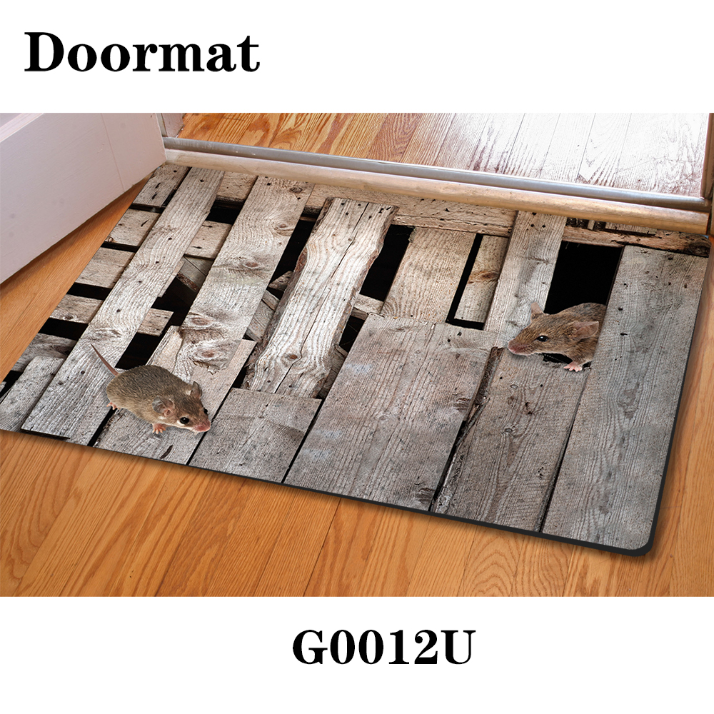Modern Home Floor Mats 400*600mm 3D Animal House Room Mats Animal ...