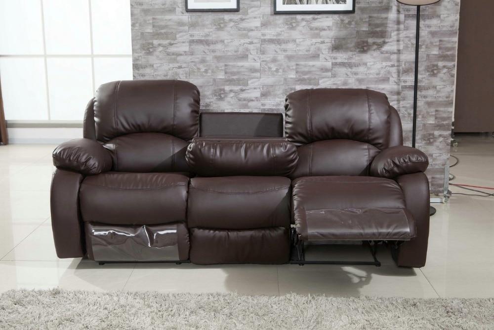 motion sofas leather wooden furniture designs sofa set 2016 armchair chaise european style muebles bean bag ...