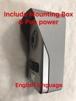 Hikvision DS KV8102 1C DS KV8102 IP Include Mounting Box HD Visual Intercom Doorbell Waterproof IC