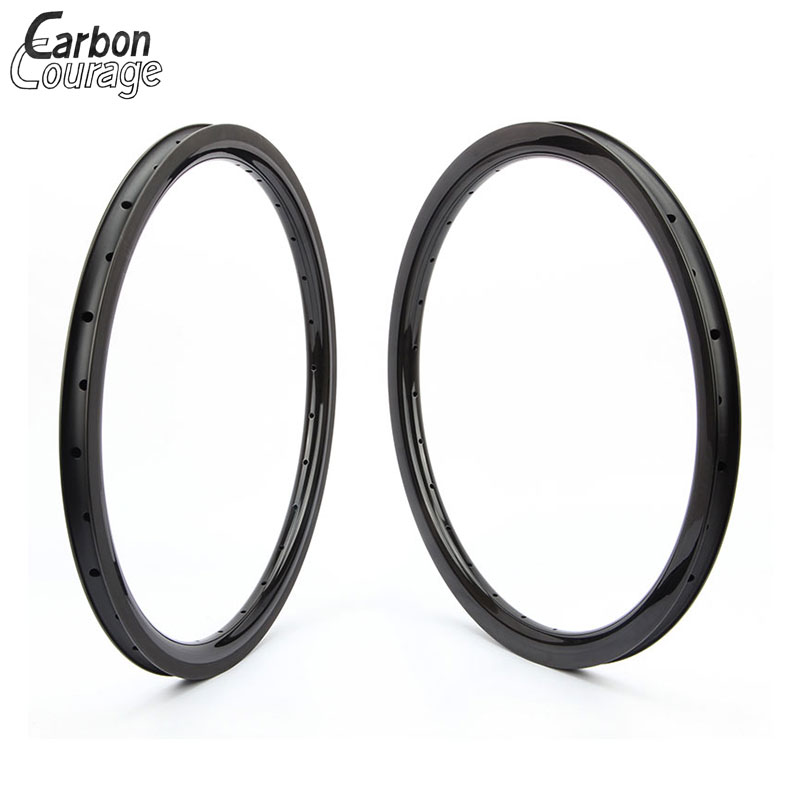 Road Bike wheels 20 Carbon Rims Clincher 25/30mm Width Carbon Road Bike Wheel Rim 406 Carbon 30/38/50mm 3K Matte Customized 700c which spoke carbon wheels t700 v sprint carbon wheels 50mm carbon wheel with 20 5mm width d and t350hub