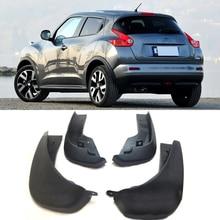 Спереди и сзади автомобиля брызговик s для Nissan Juke 2010-2014 F15 брызговики брызговик крыло брызговиков 2011 2012 2013