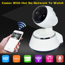 V380 HD 720P IP Camera Security Network CCTV Wifi Cam Megapixel Wireless Digital Security IR-Cut Night Vision Alarm System