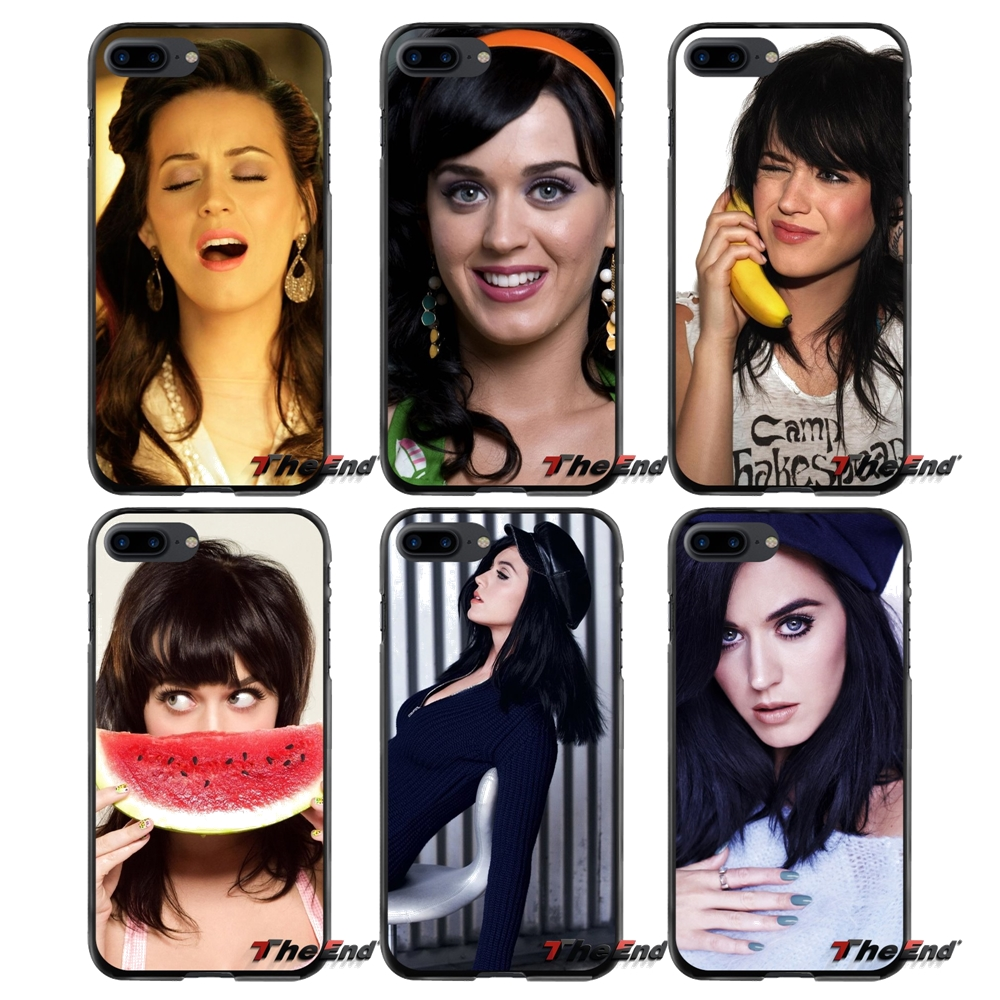 Music Katy perry Accessories Phone Cases Covers For Apple iPhone 4 4S 5 5S 5C SE 6 6S 7 8 Plus X iPod Touch 4 5 6