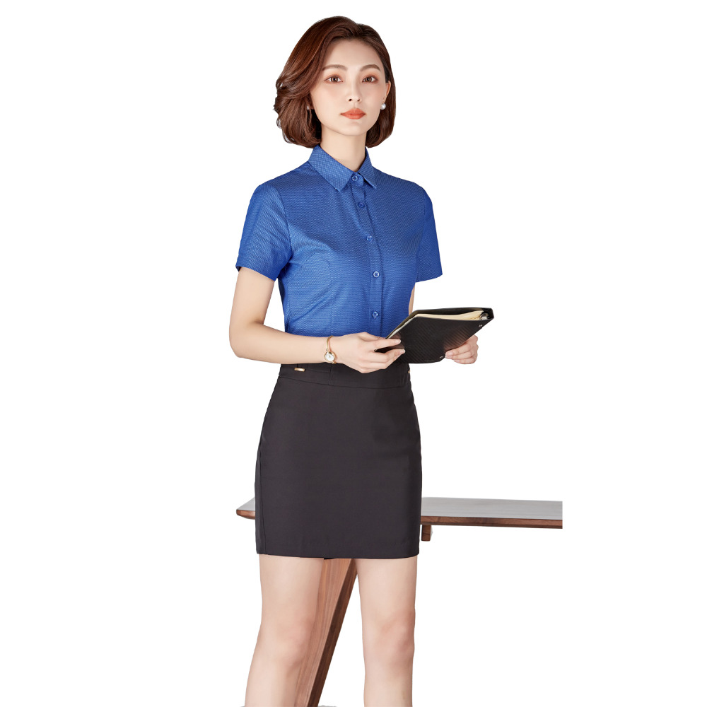 Women Skirt Suits 2 Pieces Office Clothes Business Formal OL Uniform Business Suits With Skirt Office Ladies Clothes Uniform