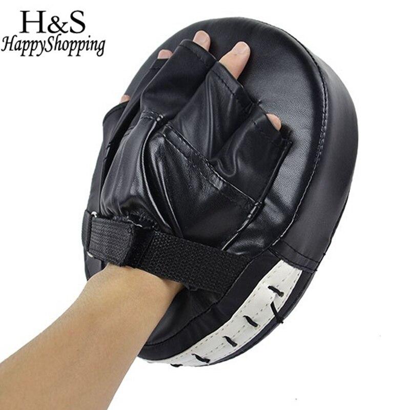 Kiváló minőségű 1 darab fekete / piros boksz-kesztyű MMA célkabát Jab fókusz lyukasztó biztonsági biztonság MMA edzőkesztyű Karate Luva De Foco