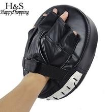 High Quality 1 Piece Black/Red Boxing Mitt MMA Target Hook Jab Focus Punch Pad Safety MMA Training Gloves Karate Luva De Foco