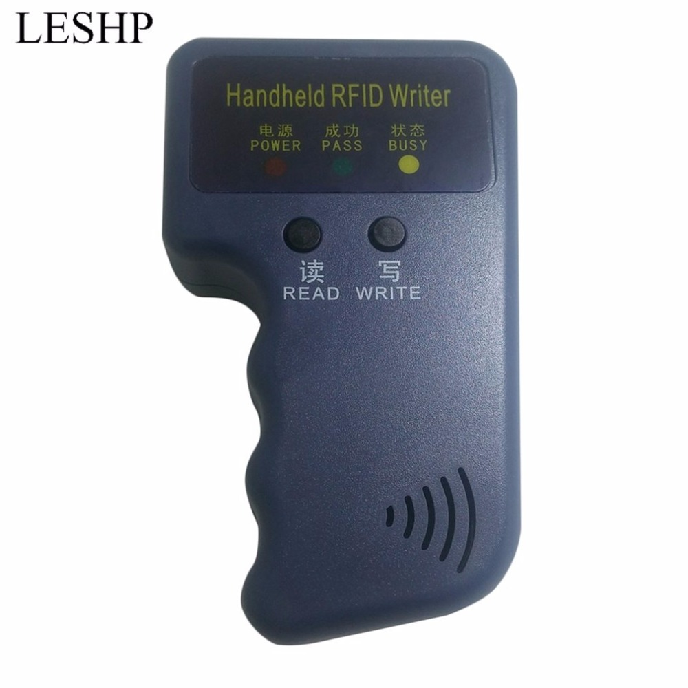 LESHP Handheld 125KHz EM4100 RFID Copier Writer Duplicator Programmer Reader 20000 times Writer for EM4305 T5577 CET5200 EN4305 dress bray steve alan платья и сарафаны мини короткие