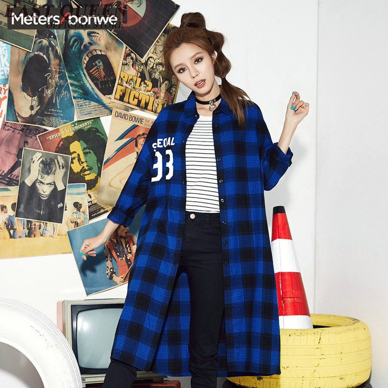 2017 New Autumn tartan font b clothing b font long sleeve plaid shirts for font b online buy wholesale 3x womens clothing from china 3x womens,3x Womens Clothing