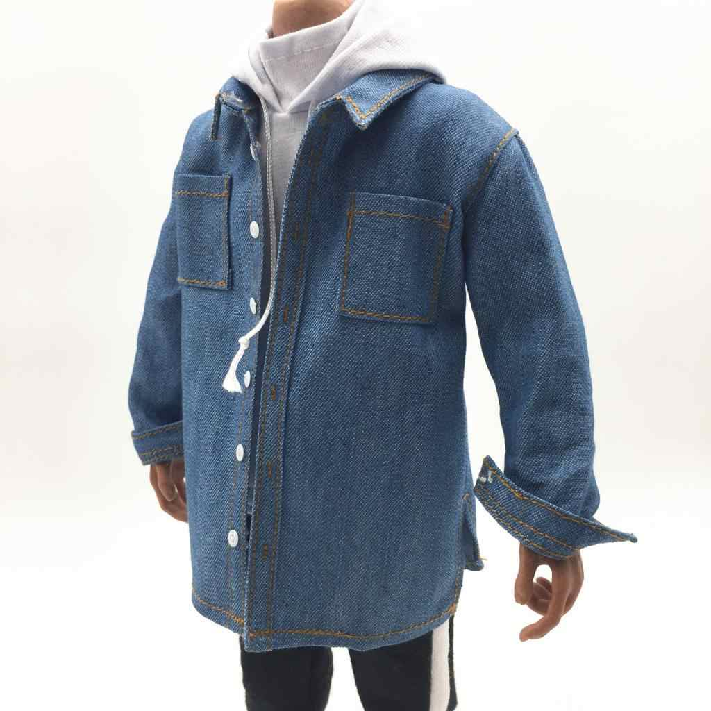 1//6 Male Cowboy Shirt for 12inch Hot Action Figure Accessory