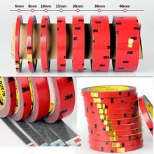 1 個の x 3 メートル両面接着強度非トレース超薄型フォームテープ接着剤粘着性接着剤