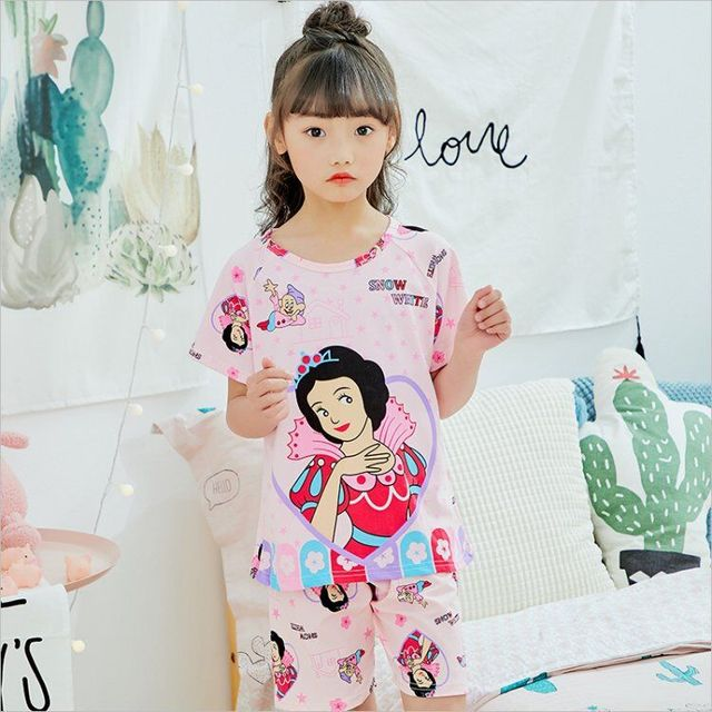 79352daef9d0 Kids Boys Sleepwear Dinosaur Shark Pajamas Child Animal Summer ...