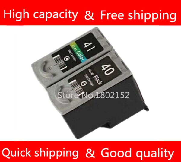 PG40 CL41 Compatible Ink Cartridge replacement for Canon PG 40 CL 41 PIXMA iP1600 iP1200 iP1900 MX300 MX310 MP160 MP140 MP150