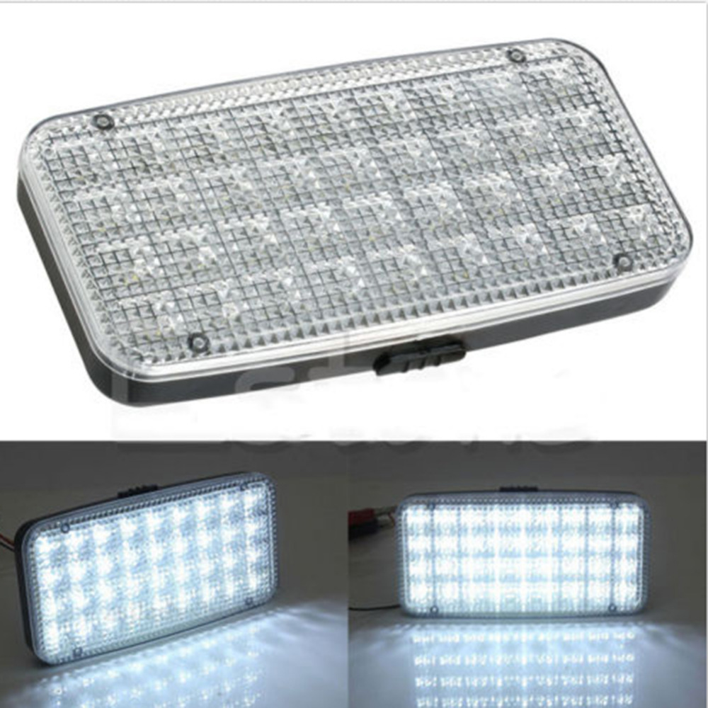 1PCS 12V 36 LED Car Vehicle Vans Truck Dome Roof Ceiling Interior Light Lamp Car Lighting Car Indoor Lamps High Quality