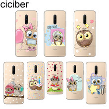 ciciber Lovely Owl Phone Cases For Oneplus 7 Pro 1+7 Pro Soft TPU Back Cover for Xiaomi 9 Coque For Redmi Note 7 6 Pro Funda