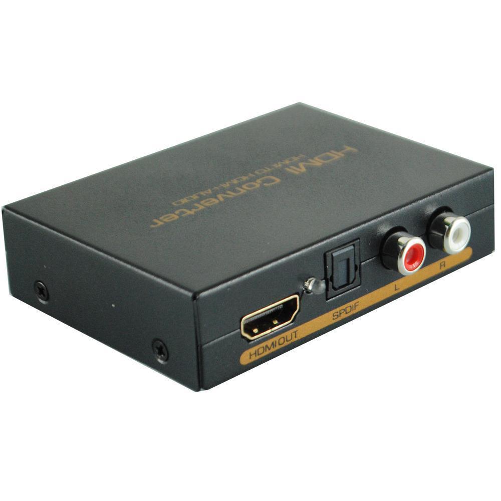 hdmi to hdmi spdif rca l r audio extractor converter. Black Bedroom Furniture Sets. Home Design Ideas