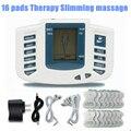 Электростимуляторы всего Тела Relax Мышц Массажер, Pulse иглоукалывания 16 колодки здравоохранения красоты Для Похудения массаж