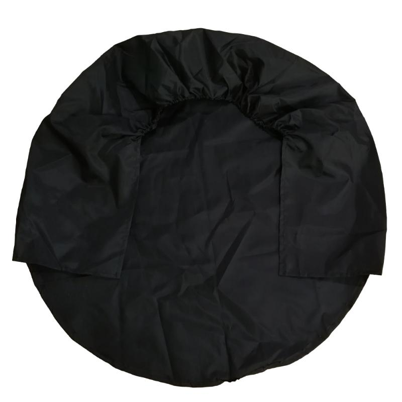Black Color Wheel Tire Covers