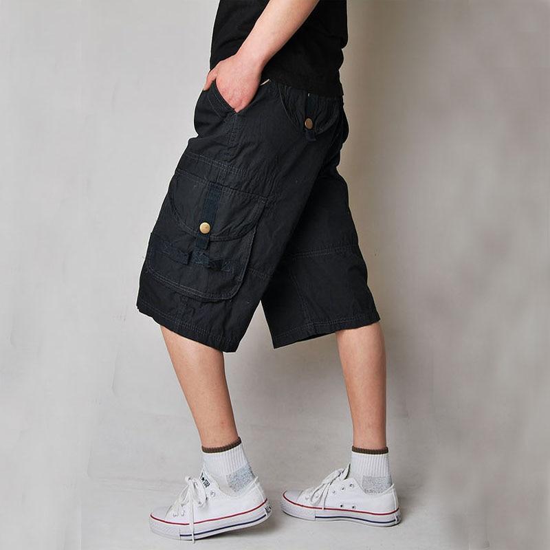 Новые классные Для мужчин S летние хлопковые армейские повседневные штаны Camo Combat Ca ...