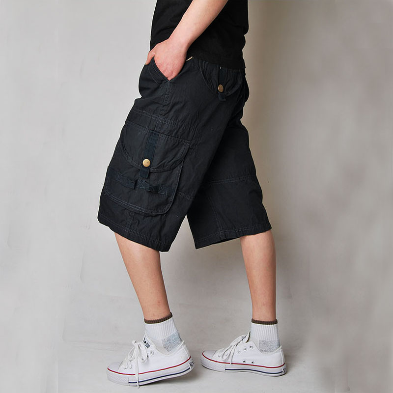 New Cool Mens Summer Cotton Army Casual Trousers Camo Combat Cargo Work Shorts Men Cloth ...