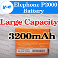 Elephone P2000 Battery Original 3200MAH New Battery For Elephone P2000C Octa Core SmartPhone In Stock