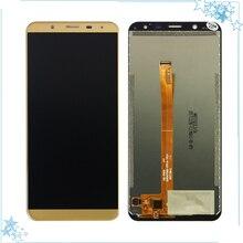 """כחול/שחור/זהב עבור 5.7 """"אינץ Oukitel K5000 LCD תצוגה + מסך מגע LCD Digitizer זכוכית לוח החלפה"""