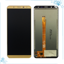 """Mavi/Siyah/Altın Için 5.7 """"inç Oukitel K5000 LCD ekran + Dokunmatik Ekran LCD Digitizer Cam Panel Değiştirme"""