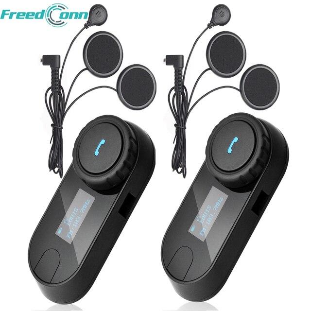Мягкий Наушник + TCOM-SC BT переговорные Bluetooth мотоциклетный шлем гарнитура ЖК дисплей экран с FM радио
