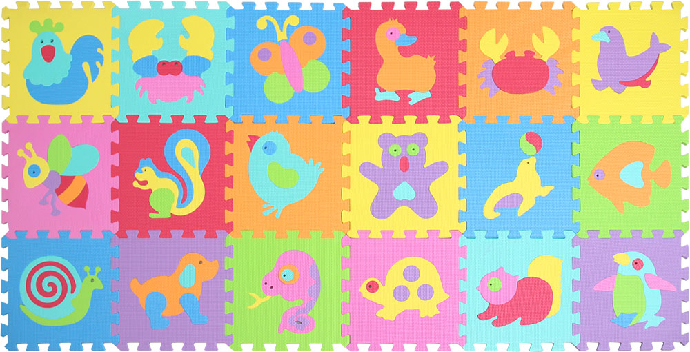 HTB1Hdc lH3nBKNjSZFMq6yUSFXaA EVA foam puzzlen/baby play mat foam play Puzzle mat / 18pcs/36pcs lot Interlocking Exercise TilesEach 30cmX30cm