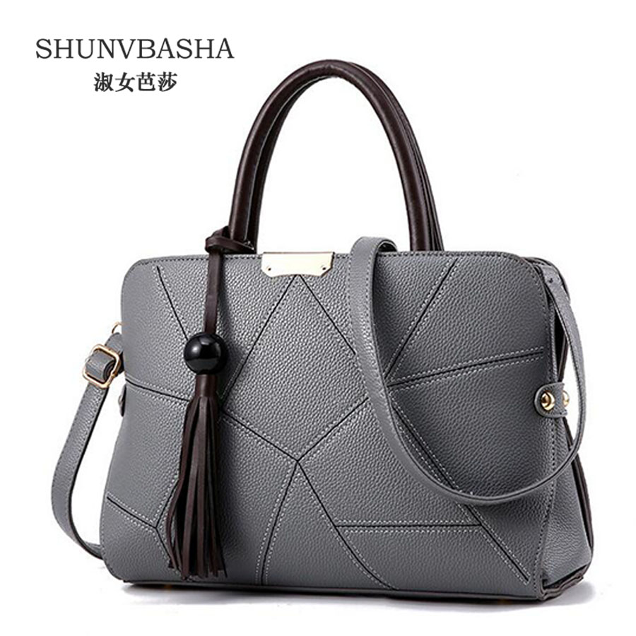ФОТО Women Pu Leather Messenger Bags Female Tassel Decoration Handbags Bolsa Feminina Single Shoulder Pouch For Ladies 8404