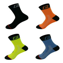 High Quality Sport Socks 5 Color Unisex Tour de France Team Cycling Socks Riding Bike Socks Sports Runing Yoga Socks size 39-46