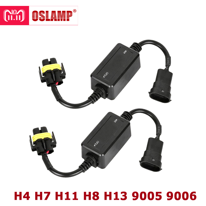 Oslamp Error Free Canbus Decoder for LED Headlight for Car SUV Led Car Bulb Lamps Can-Bus H4 H7 H8 H11 H13 9005/HB3 9006/HB4 free shipping 2pc lot car led lamp canbus h8 fog lamps for subaru outback bs 2014