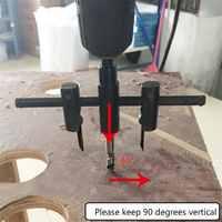 Metal Alloy Steel Wood Circle saw Hole Saw Drill Bit Cutter Kit drill bit adjustable hole saw circle cutter wood wood drill _W
