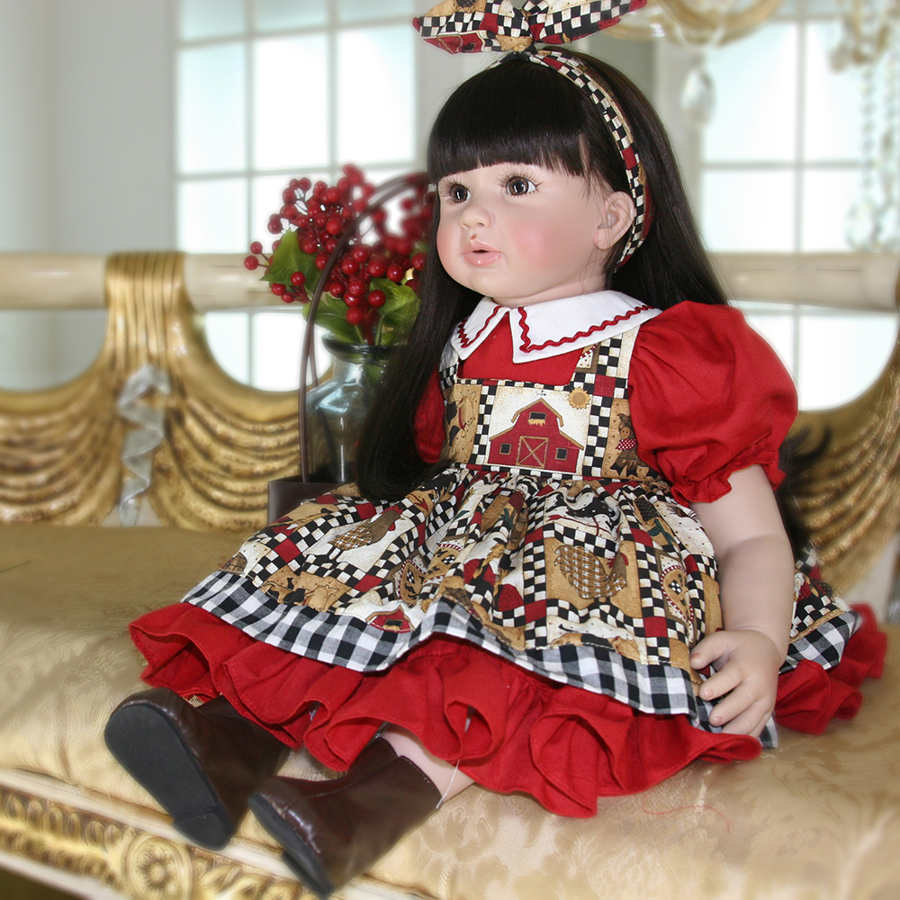Collection Lifelike Silicone Reborn Girl Baby Doll Princess Doll Toys for Girls Lifelike Dolls Toys for Girls Birthday Gifts disney princess brass key 2003 holiday collection porcelain doll snow white