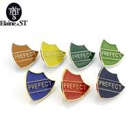 seven Prefect Enamel Brooches Pins Statement Women Jewelry Fashion Men Broches Badges Hijab Accessories Confident Gift