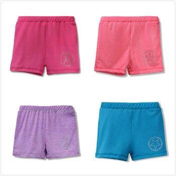 4 colores poliéster 2-10Y Infantil niños niñas de traje lindo ropa interior Pantalones Niño niños short de baño elástico ropa interior
